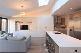 tv in kitchen ideas big cozy living room sofa set and white tv cabinet along with