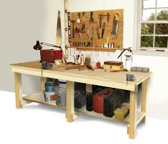 Woodworking Plans For Free Workbench by How To Build A Workbench Diy Best Workbench Plans Ideas