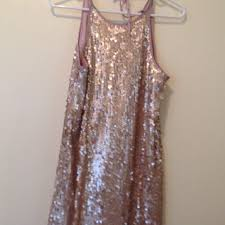 68 off forever 21 dresses u0026 skirts champagne pink sequin dress