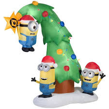 Air Blown Christmas Decorations 8 Best Minion Inflatables Images On Pinterest Christmas