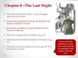 jekyll and hyde chapter 2 themes the strange case of dr jekyll and mr hyde chapter 8 by amylou17