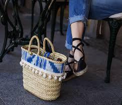 Beach Basket Beach Basket Basic Carefully Made In Spain