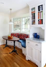 Breakfast Nook Chandelier Breakfast Nook Benches Dining Room Traditional With Curved Bench