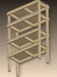 Woodworking Plans Garage Shelves by Best 25 Diy Storage Shelves Ideas On Pinterest Garage Shelving
