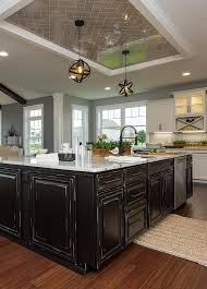 are two tone cabinets out of style transitional white and black two toned kitchen free