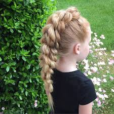 cute hairstyles pull through braid 10 fun kids braided hairstyles to do for school hairstyle mania