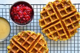leftover waffles just a taste