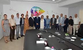siege tunisie telecom une délégation de la ville de suresnes reçue au siège de tunisie