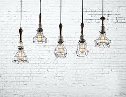 Decorative Pendant Light Fixtures Edison Cage L Vintage Industrial Explosion Proof Cage Bulb
