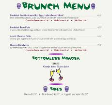 menu for brunch brunch menu lola s burrito burger joint