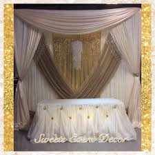 wedding draping decor by sweets event decor tent draping