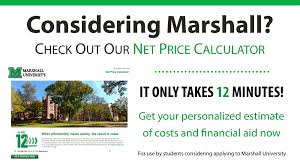student financial assistance marshall university