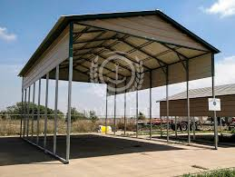 open carports 1 option for metal carports installation included navy metal