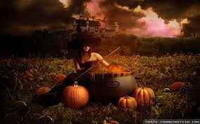 black and orange halloween background witch wallpapers group 82