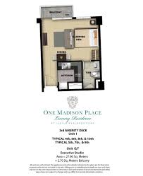 One Madison Floor Plans Megaworld Properties One Madison Place At Iloilo