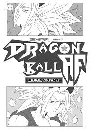dragon ball fan manga dragon ball af xicor special by jaworpl on deviantart