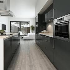 Kitchens With White Granite Countertops - grey cabinet kitchens dark brown elongated island white granite
