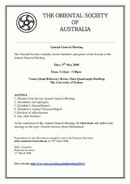 treasurer s report agm template annual general meeting agenda template template update234
