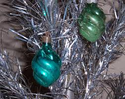 vintage wwii unsilvered ornaments
