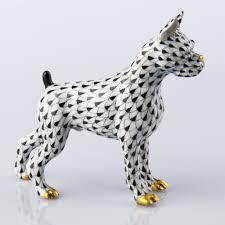 boxer dog 2015 boxer dog herend figurines herend porcelain animals
