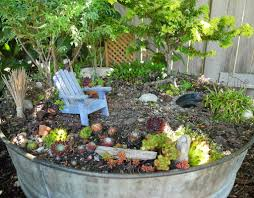 Outdoor Fairy Garden Ideas by The Miniature Garden Furniture Home Designing Miniature Garden