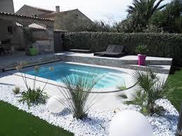 modele de jardin moderne décoration jardin moderne avec piscine nimes 3817 jardin