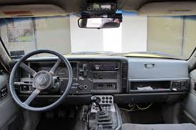 yellow jeep interior dirtbound u0027s xj reminds us what a jeep cherokee can be off road