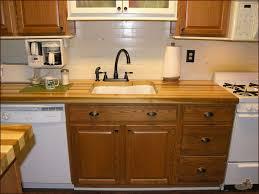 Curved Kitchen Island Kitchen Interior Brown Wooden Curved Kitchen Cabinet Light Brown