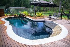 Lagoon Swimming Pool Designs by Narellan Pools Rockpool Swimming Pools Fibreglass Pools
