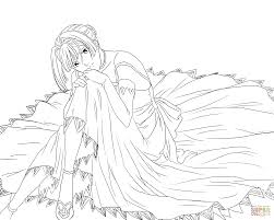 alice l malvin from pumpkin scissors manga coloring page free