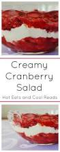 jello salads for thanksgiving eats and cool reads creamy cranberry salad recipe
