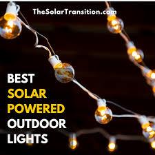 Best Outdoor Solar Lights Best Solar Powered Outdoor Lights The Solar Transition