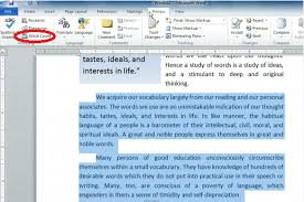 paragraph word check and character counts in microsoft word 2010
