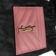ysl business card holder yves laurent sold ysl card from s