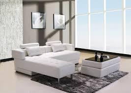 canap d angle convertible avec pouf ensemble switsofa largo cuir blanc canapé d angle réversible et