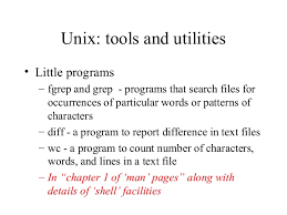 Count No Of Words In Unix Unix Intro