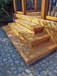 Corner Deck Stairs Design Lovely Corner Deck Stairs Design Wide Deck Stair Designs Canopy