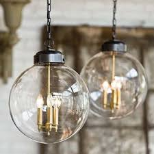 Globe Ceiling Light Fixtures by Brass Globe Pendant Creates A Welcoming Sense Of Warmth Retro
