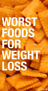 worst foods for weight loss pinsnapshot