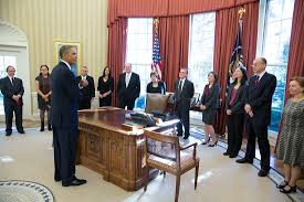 Obama Oval Office Decor President Obama Welcomes America U0027s Nine New Nobel Laureates To The