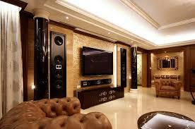 living room home theater interior design