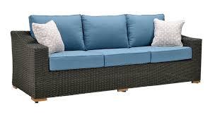 Blue Sofa Set New Boston 6 Piece Patio Set Sofa 2 Lounge Chairs 2 Ottomans