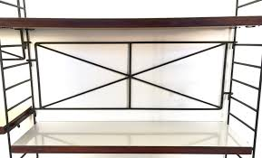 minimalist italian modular bookshelves 1950s set of 2 for sale
