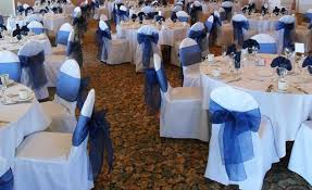 blue chair covers awesome chair cover rentals in los angeles and orange county ca