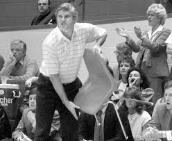 all the rage bobby knight u0027s infamous u0027chair game u0027 30 years later