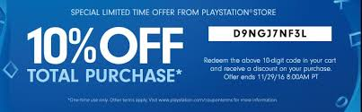 play station 4 black friday us psn black friday sale 10 off psn code neogaf