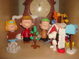 snoopy christmas tree ornaments the peanuts action figures are