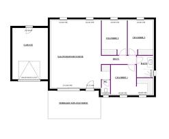plan maison 90m2 plain pied 3 chambres plan maison plain pied 80m2 3 chambres sisterchicas com