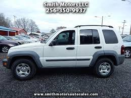 jeep liberty parts for sale 2007 jeep liberty sport for sale decatur al cylinder white
