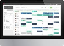 Restaurant Employee Schedule Template Excel by Employee Scheduling Software Screenshot Of The Shift Planning